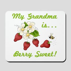 Sweet Grandma Mousepad