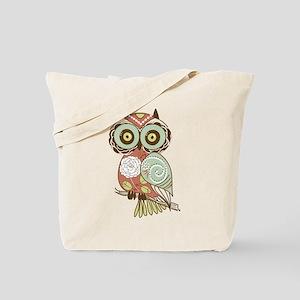 Multi Owl Tote Bag