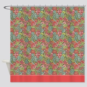 Paisley Cyngalese 2 Shower Curtain