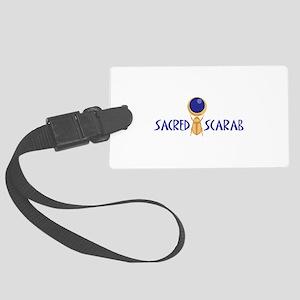SACRED SCARAB Luggage Tag