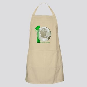 Only 1 Earth - Earth Day, Everyday Apron
