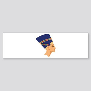 Egyptian Nefertiti Queen Bumper Sticker