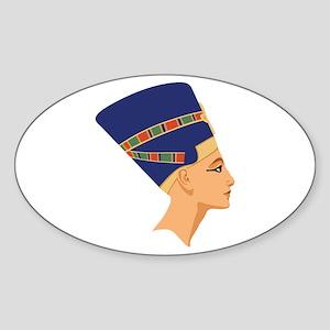 Egyptian Nefertiti Queen Sticker