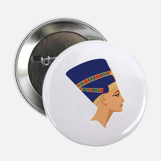 "Egyptian Nefertiti Queen 2.25"" Button"