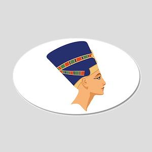 Egyptian Nefertiti Queen Wall Decal