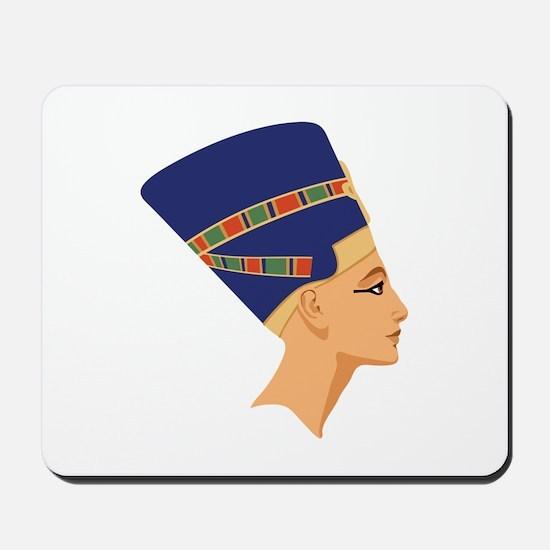 Egyptian Nefertiti Queen Mousepad