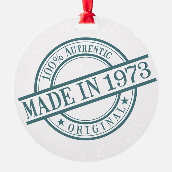 Made in 1973 Ornament