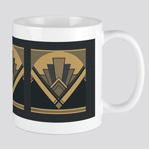 Art Deco Fan Mugs