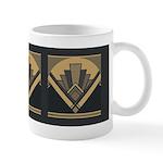 Art Deco Fan Mugs
