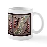 Art Deco Ginko Mugs