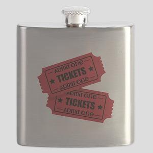 Admit One Tickets Flask