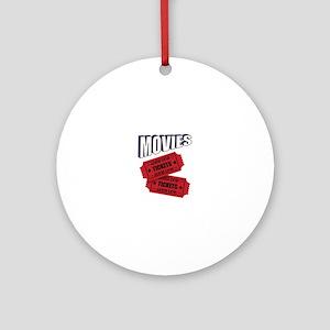 Movies Ornament (Round)