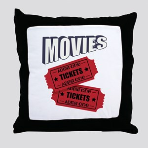 Movies Throw Pillow