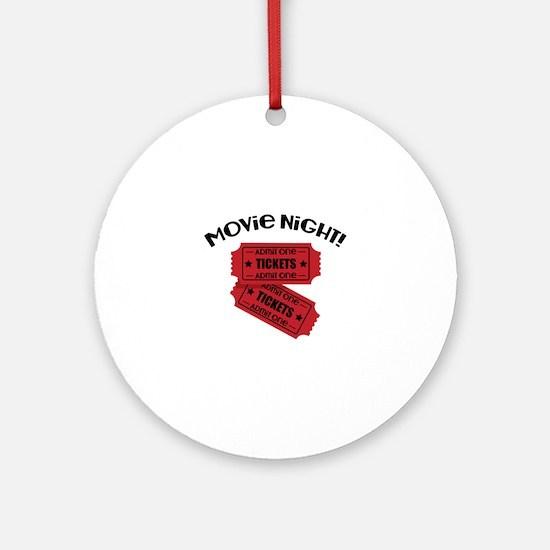 Movie Night! Ornament (Round)