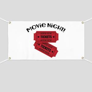 Movie Night! Banner