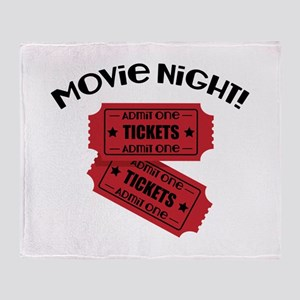 Movie Night! Throw Blanket