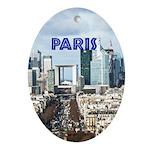 Paris Ornament (Oval)