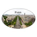 Paris Sticker (Oval 50 pk)
