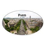 Paris Sticker (Oval 10 pk)