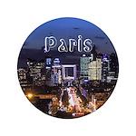 """Paris 3.5"""" Button"""