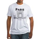 Paris Fitted T-Shirt