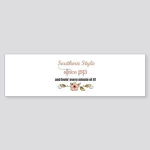 Southern Style 1913 Bumper Sticker