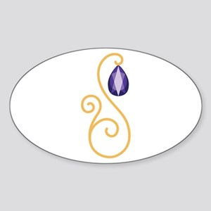 Amethyst February Month Text Sticker