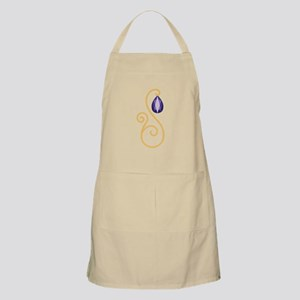 Amethyst February Month Text Apron