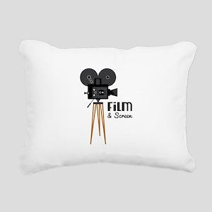 Film Screen Rectangular Canvas Pillow