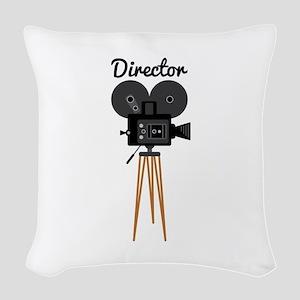 Director Woven Throw Pillow