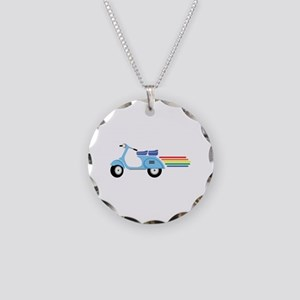 Rainbow Scooter Necklace