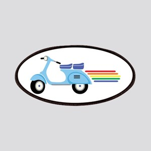 Rainbow Scooter Patches