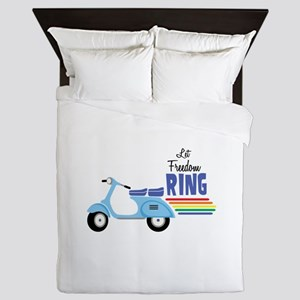 Let Freedom Ring Queen Duvet