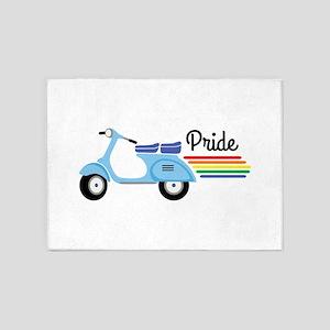 Pride 5'x7'Area Rug
