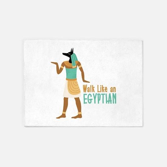 Walk Like an EGYPTIAN 5'x7'Area Rug
