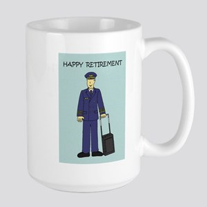 Happy Retirement Pilot Mugs