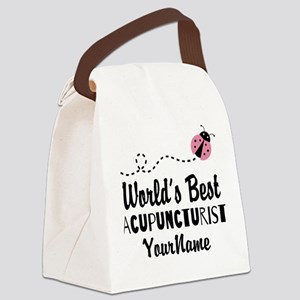 World's Best Acupuncturist Canvas Lunch Bag