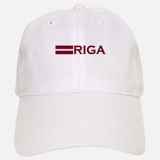 Riga, Latvia Baseball Baseball Cap