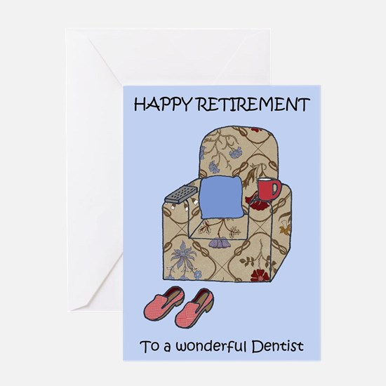 Happy Retirement to Dentist Greeting Cards