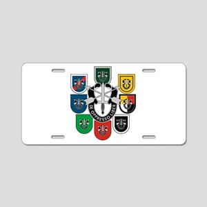 Special Forces Aluminum License Plate