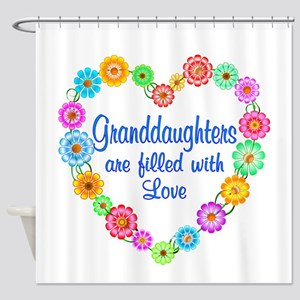 Granddaughter Love Shower Curtain