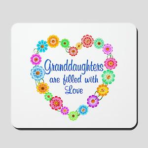 Granddaughter Love Mousepad