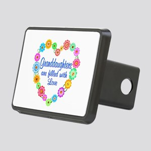 Granddaughter Love Rectangular Hitch Cover