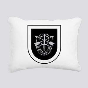 5th Special Forces Rectangular Canvas Pillow