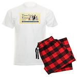 - Multiple Patterns Available Men's Light Pajamas