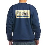 Men's - Navy Blue Or Black Sweatshirt (dark)