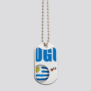 Uruguay soccer futbol Dog Tags