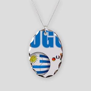 Uruguay soccer futbol Necklace