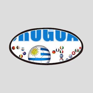 Uruguay soccer futbol Patches