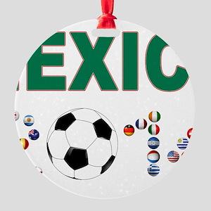 México futbol soccer Ornament